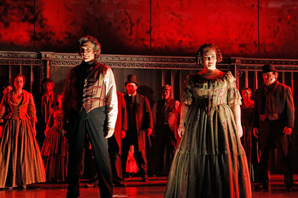 Sweeney Todd – Chicago Theater Review by Tony Frankel – Drury Lane Theatre in Oakbrook Terrace