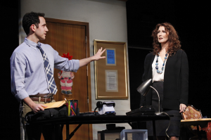 Sons of the Prophet by Stephen Karam - with Santino Fontana and Joanna Gleason – at Roundabout's Laura Pels Theatre – Off Broadway Theater Review by Thomas Antoinne