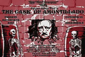 Post image for Los Angeles Theater Review: THE CASK OF AMONTILLADO (Zombie Joe's Underground Theatre Group)