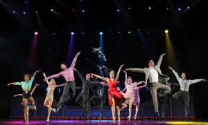 Twyla Tharp's Come Fly Away National Tour review by Harvey Perr