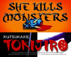 Post image for Off-Off-Broadway Theater Reviews: KUTSUKAKE TOKIJIRO and SHE KILLS MONSTERS (The Flea)