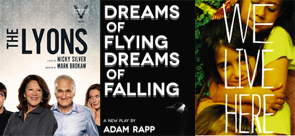 Post image for Off Broadway Theater Reviews: THE LYONS, DREAMS OF FLYING DREAMS OF FALLING, and WE LIVE HERE (Vineyard Theatre, Atlantic Theater Company, and Manhattan Theatre Club)