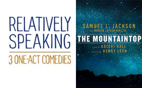 Post image for Broadway Reviews: RELATIVELY SPEAKING (Brooks Atkinson) and THE MOUNTAINTOP (Bernard B. Jacobs)