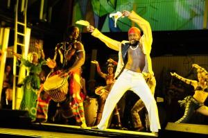 Fela! Los Angeles Theater Review of the National Tour - Bill T. Jones, Fela Anikulapo-Kuti, Sahr Ngaujah – review by Harvey Perr