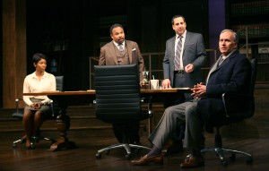 Goodman Theatre presents Race by David Mamet – directed by Chuck Smith – Chicago Theater Review by Dan Zeff