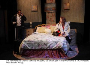 Kissing Sid James by Robert Farquhar – directed by Jason Lawson – Brits Off Broadway at 59E59 – Off Broadway Theater Review by Sarah Taylor Ellis