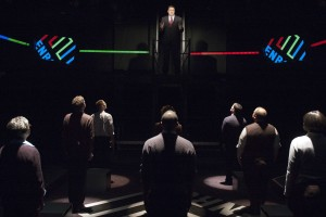 Enron by Lucy Prebble at the TimeLine Theatre – directed by Rachel Rockwell – Chicago Theater Review by Dan Zeff