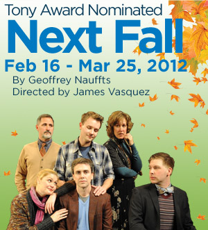 Post image for San Diego Theater Review: NEXT FALL (Diversionary Theatre)