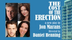 Post image for Los Angeles Theater Review: THE COST OF THE ERECTION (Blank Theatre in Hollywood)