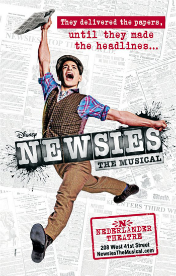 Post image for Broadway Theater Review: NEWSIES (Nederlander)