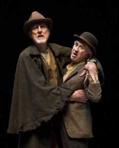 Waiting for Godot by Samuel Beckett at the Mark Taper Forum with Alan Mandell, Barry McGovern, James Cromwell, and Hugh Armstrong – directed by Michael Arabian
