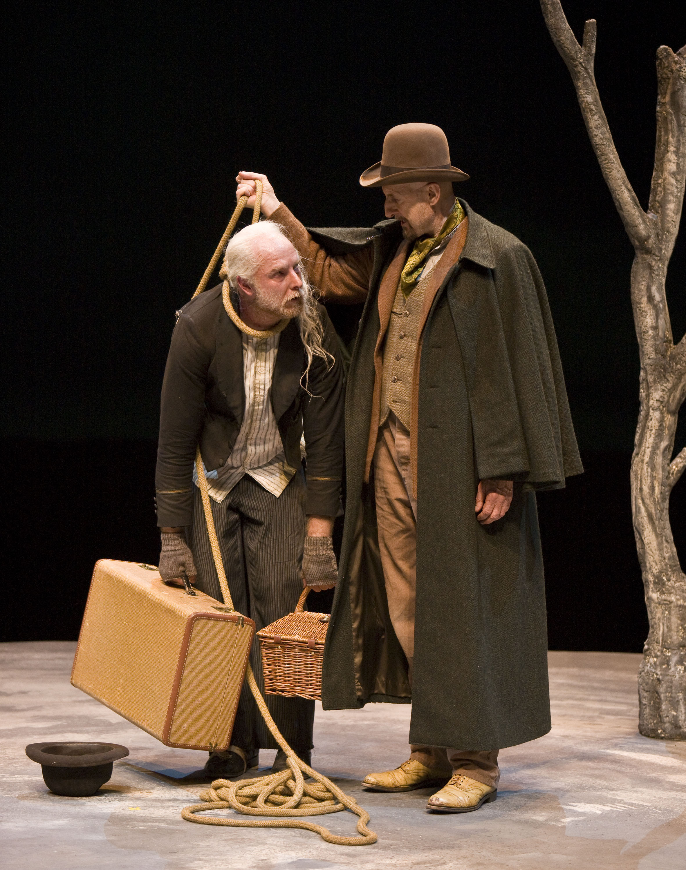 Essay About Paper Waiting For Godot By Samuel Beckett At The Mark Taper Forum With Alan  Mandell Barry What Is Thesis In An Essay also Science Fiction Essay Topics Los Angeles Theater Review Waiting For Godot Mark Taper Forum Apa Format Essay Example Paper