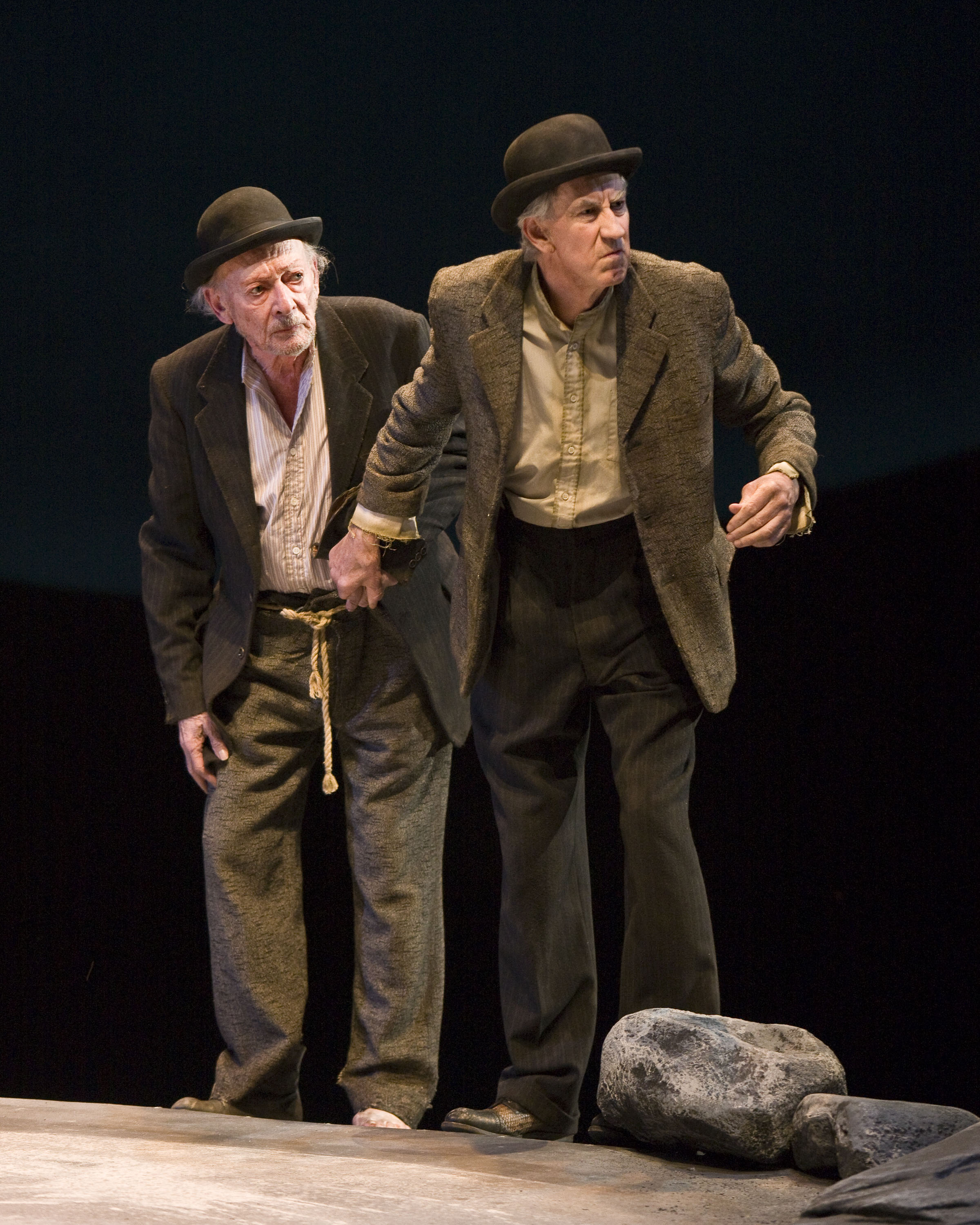 los angeles theater review waiting for godot mark taper forum