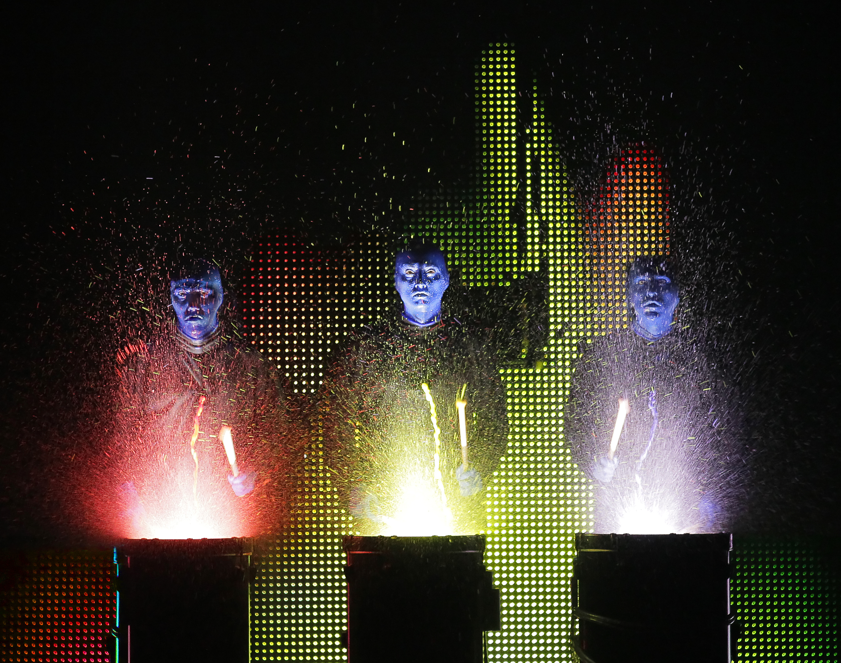 Blue Man Group At Briar Street Theatre Chicago Review By Tony Frankel