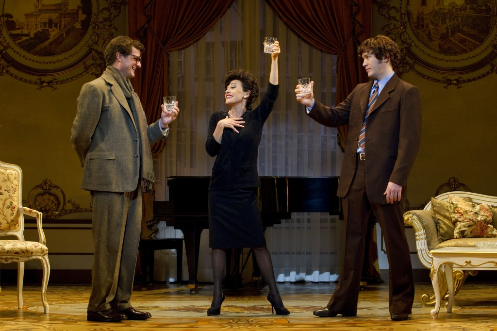 End of the Rainbow --Tracie Bennett as Judy Garland -- Written by Peter Quilter, directed by Tony® Award-winner Terry Johnson -- Belasco Theatre – review by Harvey Perr