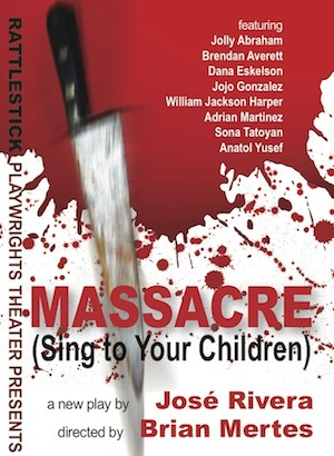 Post image for Off Broadway Theater Review: MASSACRE (SING TO YOUR CHILDREN) (Rattlestick Playwrights Theater)