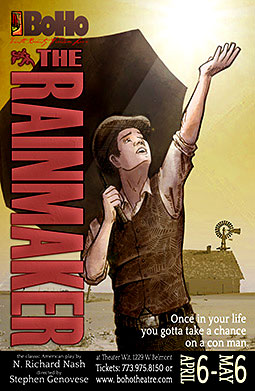 Post image for Chicago Theater Review: THE RAINMAKER (BoHo Theatre at Theater Wit)