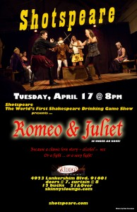 Post image for Los Angeles Theater Review: SHOTSPEARE'S ROMEO AND JULIET (Skinny's Lounge in North Hollywood)