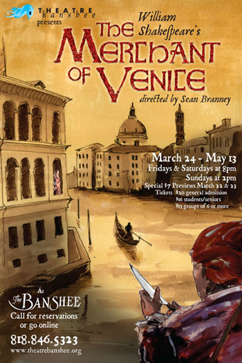 Post image for Los Angeles Theater Review: THE MERCHANT OF VENICE (Theatre Banshee in Burbank)