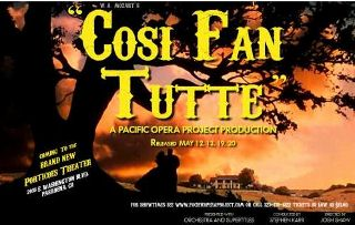 Post image for Los Angeles Opera Review: COSI FAN TUTTE (Porticoes Theater in Pasadena)