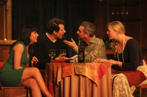 Barnaby Hughes' Los Angeles review of Sideways The Play at Ruskin