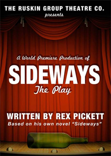 Post image for Los Angeles Theater Review: SIDEWAYS THE PLAY (Ruskin Group Theatre in Santa Monica)