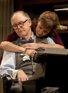 The Columnist by David Auburn - with John Lithgow - directed by Daniel Sullivan - Broadway Theater review by Harvey Perr - photo by Joan Marcus