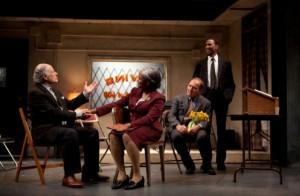 Dmitry Zvonkov's New York review of Storefront Church at Linda Gross Theater