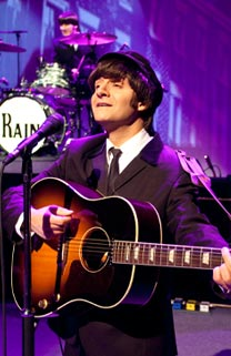 Once upon a time I went to a show and it was called Rain  A Tribute to the  Beatles  It was created by Steve Landes  Joey Curatolo  Joe Bithorn      Metacritic