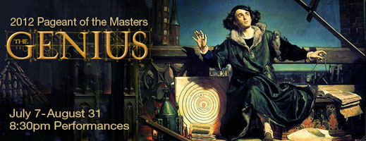 Post image for Los Angeles Theater Review: PAGEANT OF THE MASTERS: THE GENIUS (Irvine Bowl in Laguna Beach)