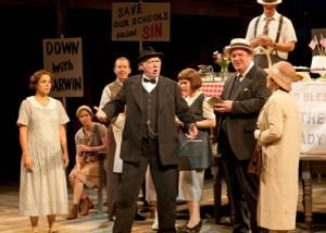 Milo Shapiro's Old Globe Shakespeare Festival review of INHERIT THE WIND