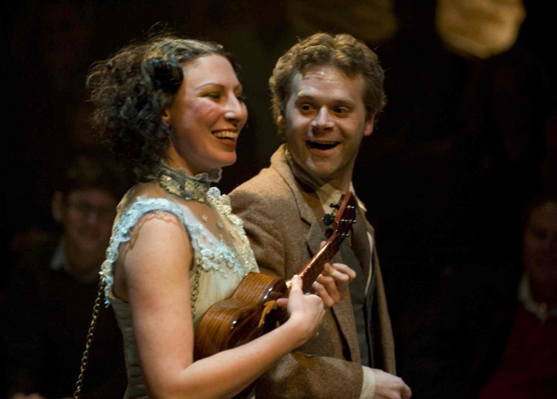 Dan Zeff's Chicago Review of House Theatre's Death and Harry Houdini at Chopin Theatre