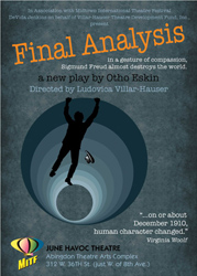 Post image for Off-Broadway Theater Review: FINAL ANALYSIS (June Havoc Theatre)