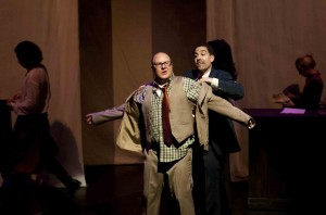 Dmitry Zvonkov's Stage and Cinema review of HELL: PARADISE FOUND at 59E59 NYC