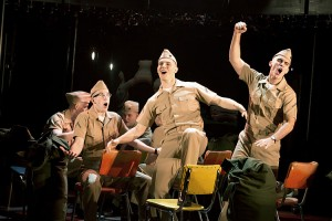 Thomas Antoinne's Stage and Cinema review of DOGFIGHT at Second Stage
