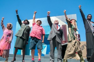 Stacy Trevenon's Stage and Cinema review of SF Mime Troupe's FOR THE GREATER GOOD