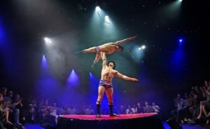 Dan Zeff's Stage and Cinema review of LA SOIREE at Riverfront Theater in Chicago