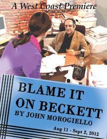Post image for Los Angeles Theater Review: BLAME IT ON BECKETT (The Colony Theatre in Burbank)