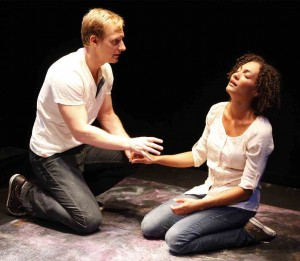 Dmitry Zvonkov's Stage and Cinema NYC review of TENDER NAPALM at 59E59