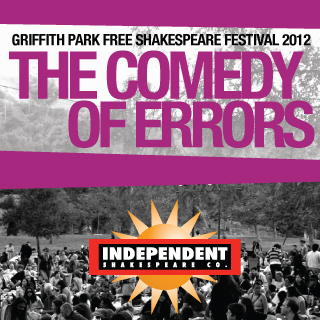 Post image for Los Angeles Theater Review: THE COMEDY OF ERRORS (Griffith Park in Los Angeles)