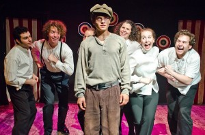 Samuel Bernstein's Stage and Cinema review of ASSASSINS at Actors Circle in L.A.
