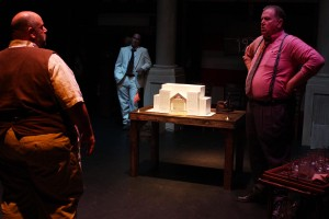Jesse David Corti's Stage and Cinema review of ALL THE KING'S MEN at El Portal in L.A.