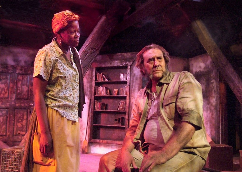 Tony Frankel's Stage and Cinema review of Fugard's THE BLUE IRIS in L.A.