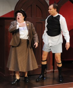 Milo Shapiro's Stage and Cinema review of SEE HOW THEY RUN at Lambs Players San Diego
