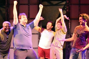 Paul Birchall's Stage and Cinema review of THE FULL MONTY at Third Street Theatre in Los Angeles