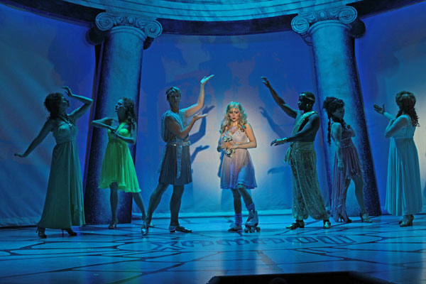 Dan Zeff's Stage and Cinema review of XANADU at Drury Lane in Chicago