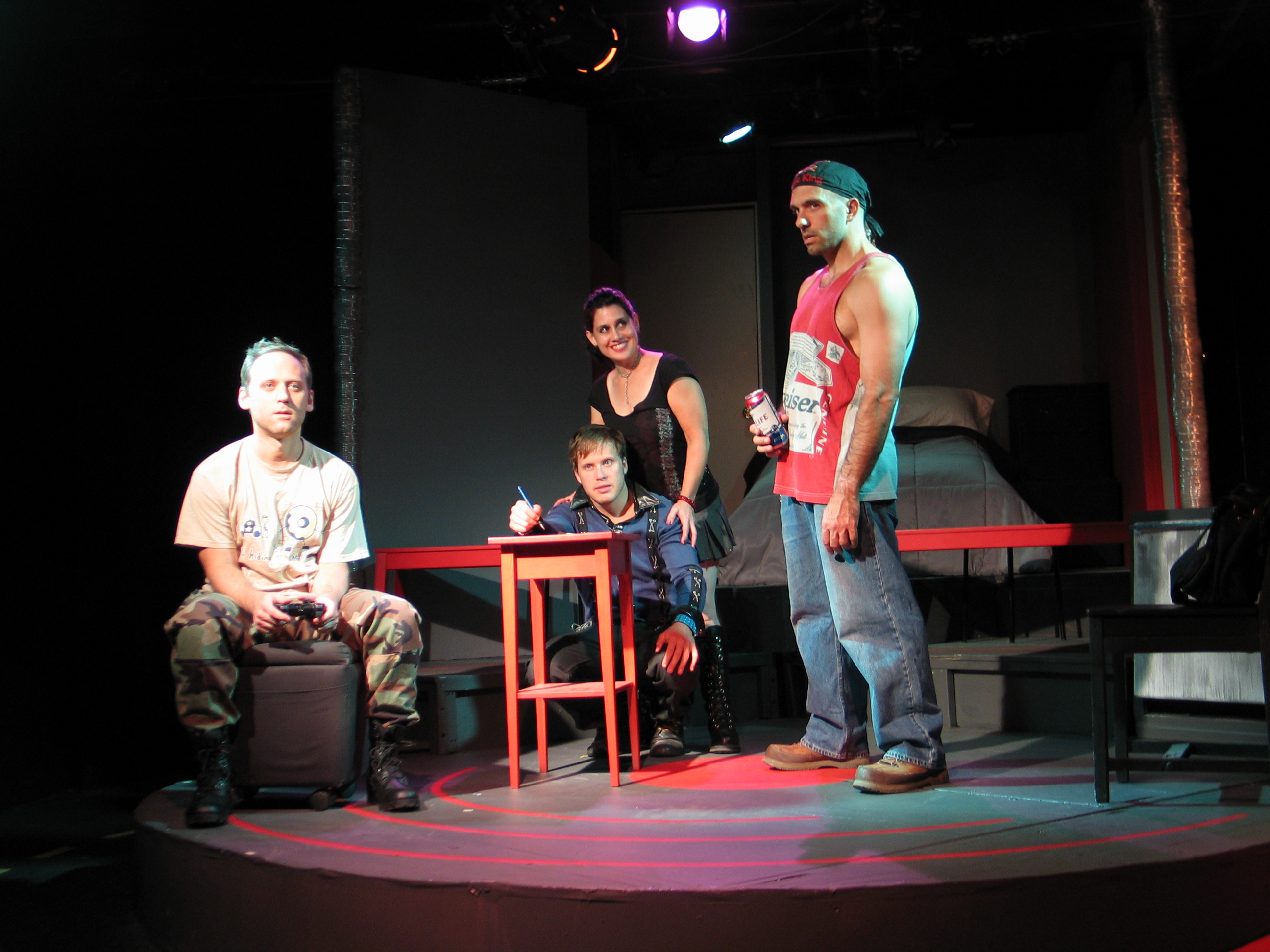 "eclectic theatre Smart, inventive, and at times, laugh-out-loud hilarious, the vienna theatre company's ""eclectic, essentialrelationships"" is an evening of four original one-act plays written by local artists that ponder friendship, family, bromance, and one woman's attempt to find the perfect mail-order."