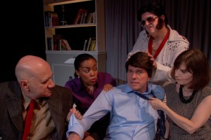 Paul Kubicki's Stage and Cinema review of BLAGOJEVICH BLAGOJEVICH! At Athenaeum Theatre in Chicago