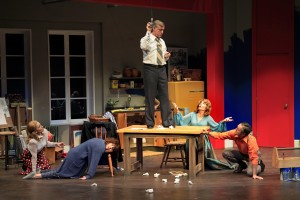 Mark Alan Anderson's Stage and Cinema reviw of ABSURD PERSON SINGULAR at South Coast Rep