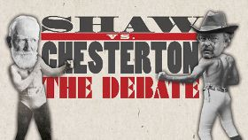 Post image for Chicago Theater Review: SHAW VS. CHESTERTON: THE DEBATE (Provision Theatre)